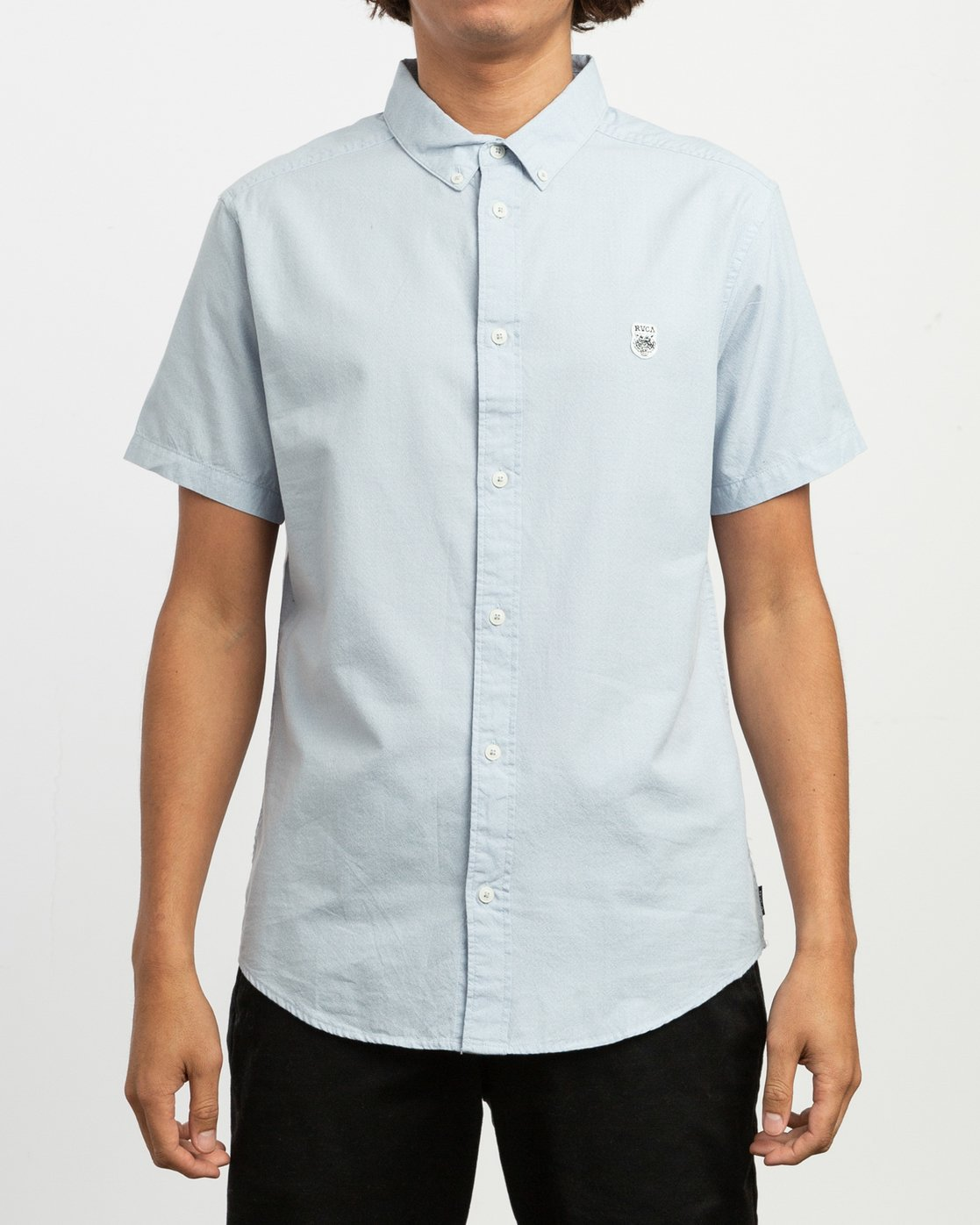 1 ANP Twist Shirt Blue M504TRAT RVCA
