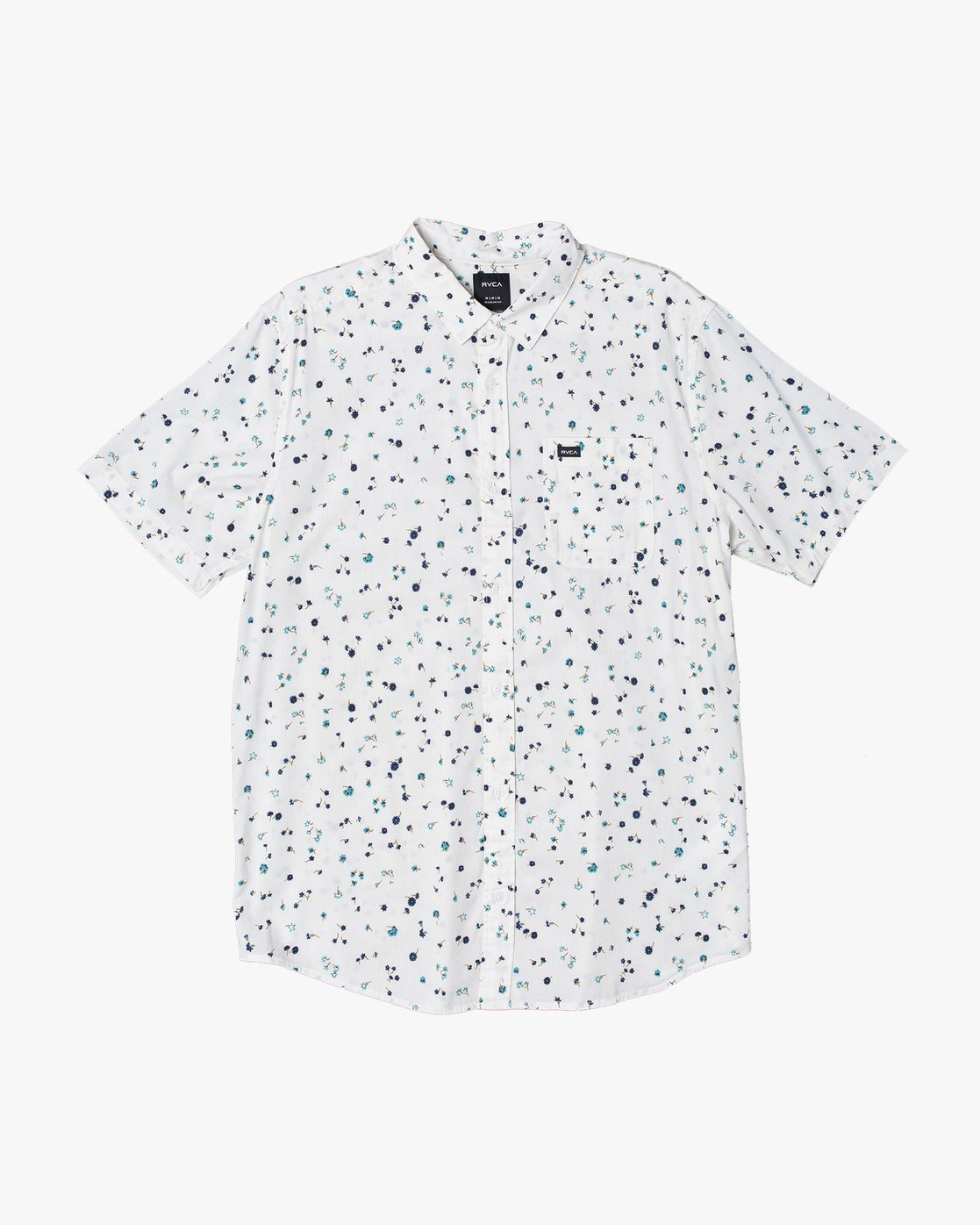 4 CALICO BUTTON-UP SHIRT White M5071RCL RVCA
