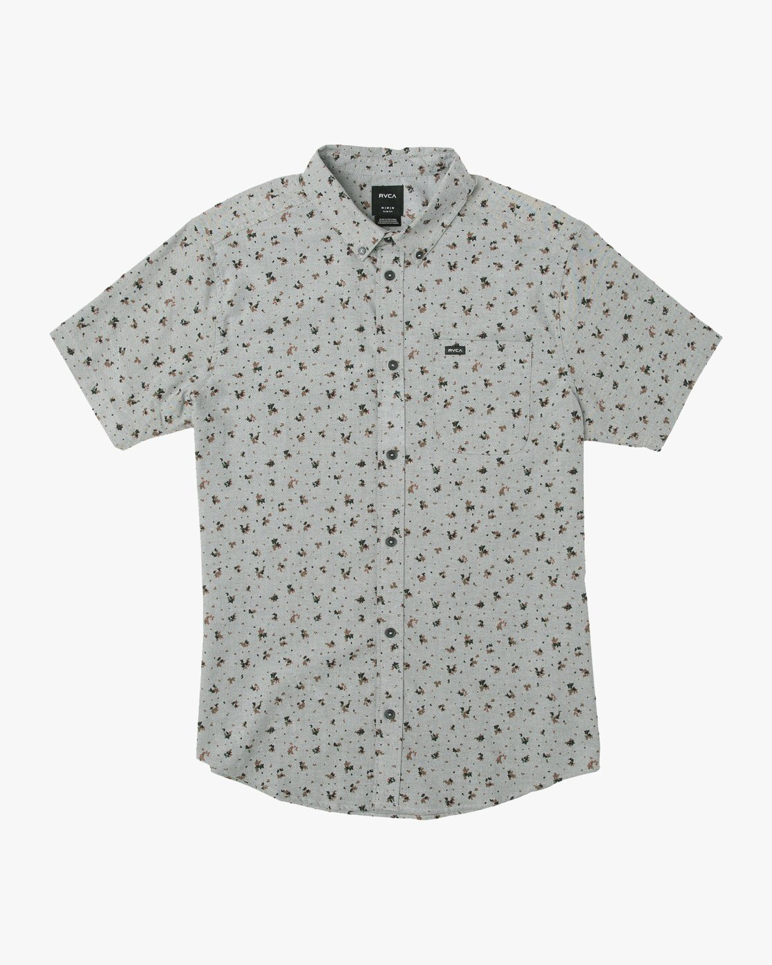 0 That'll Do Print Button-Up Shirt Multicolor M508TRTP RVCA