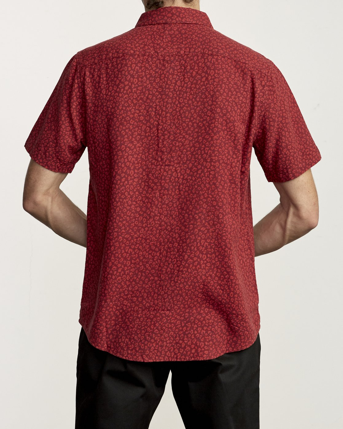 1 PRESIDIO BUTTON-UP SHIRT Red M5091RPR RVCA