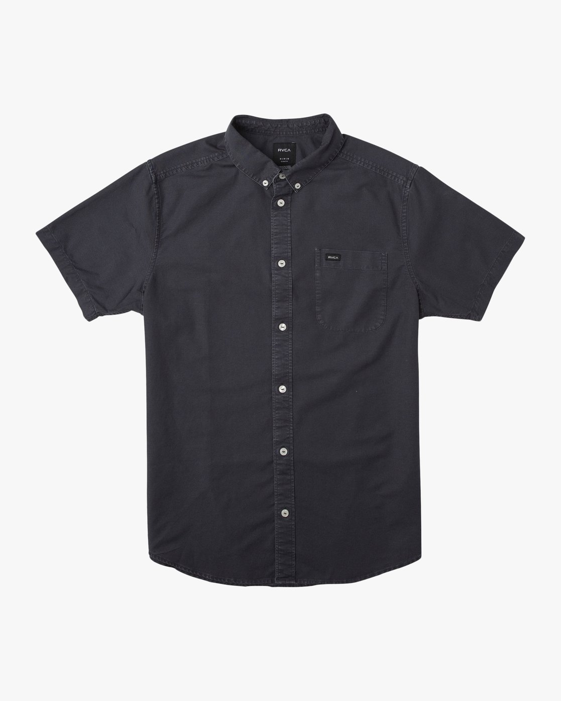 0 That'll Butter Button-Up Shirt Black M509TRTB RVCA