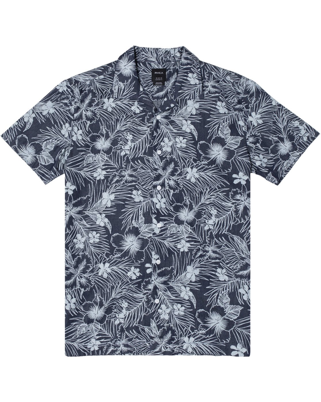 0 SPACED FLORAL SHORT SLEEVE SHIRT Blue M5103RSF RVCA