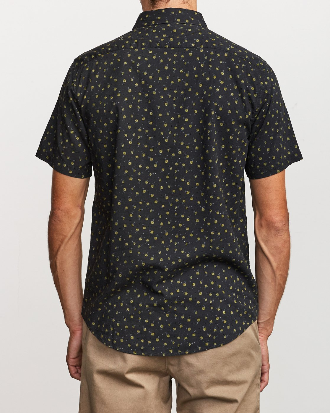 1 Prelude Floral Button-Up Shirt Black M511VRPF RVCA