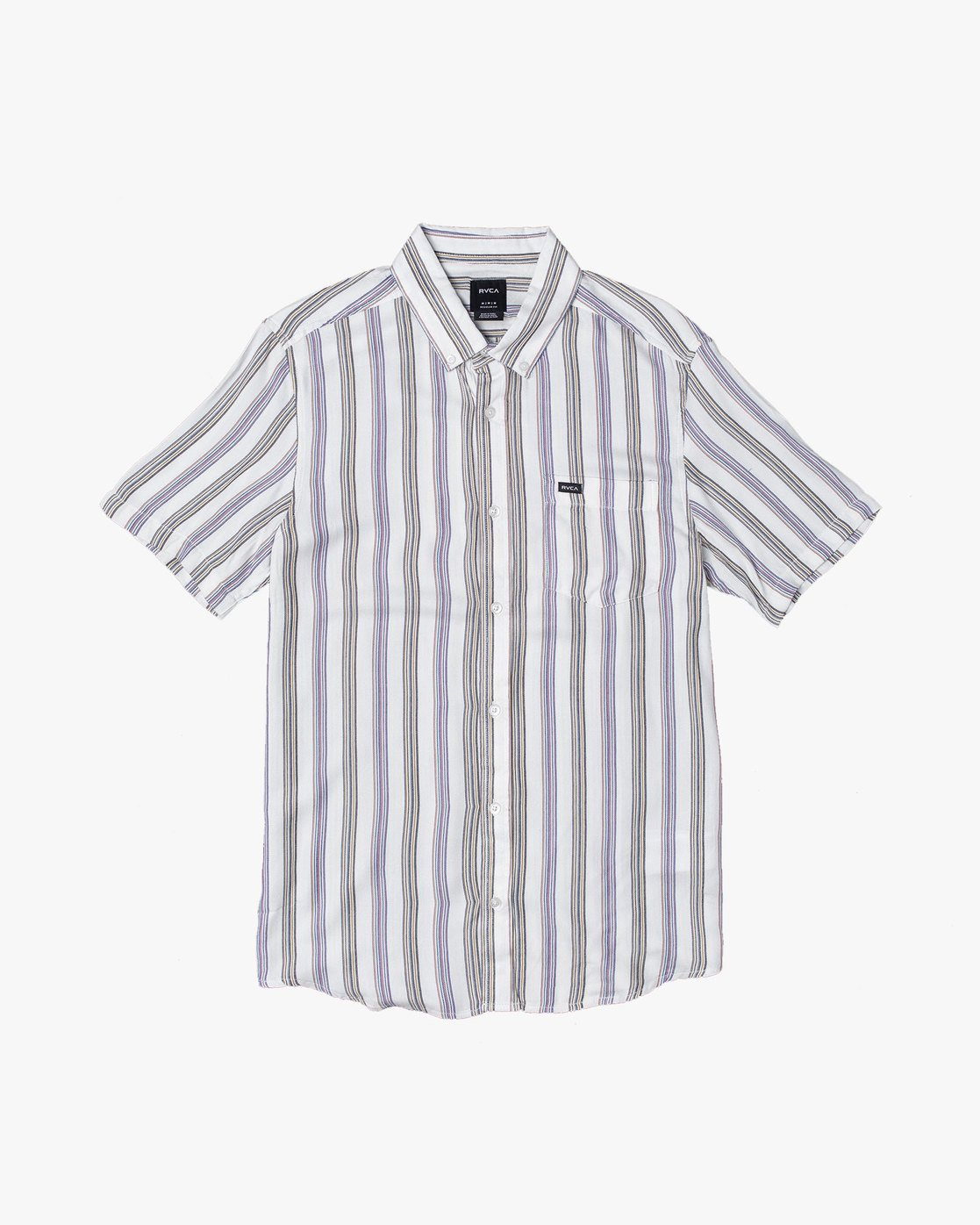 2 MERCED BUTTON-UP SHIRT White M5121RMC RVCA
