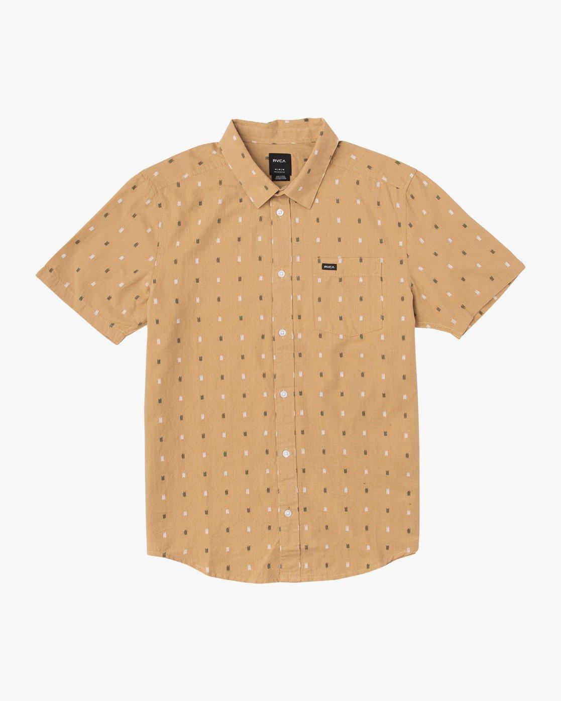 0 Aye Kat Button-Up Shirt  M514TRAK RVCA