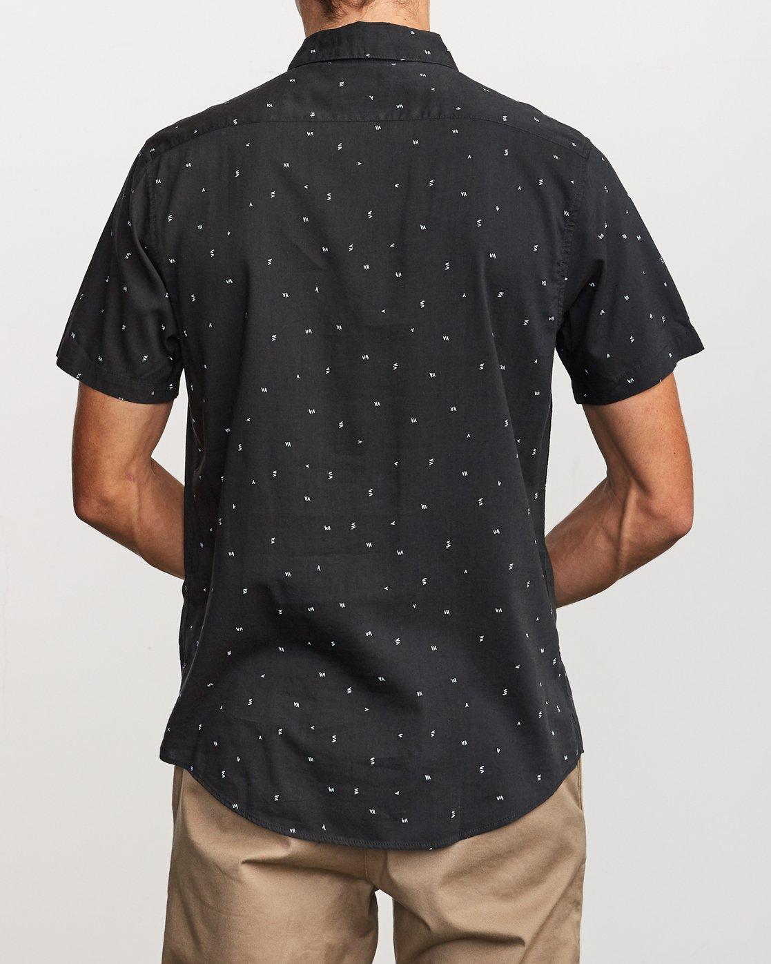 1 VA Little Buds Button-Up Shirt Black M514VRVL RVCA