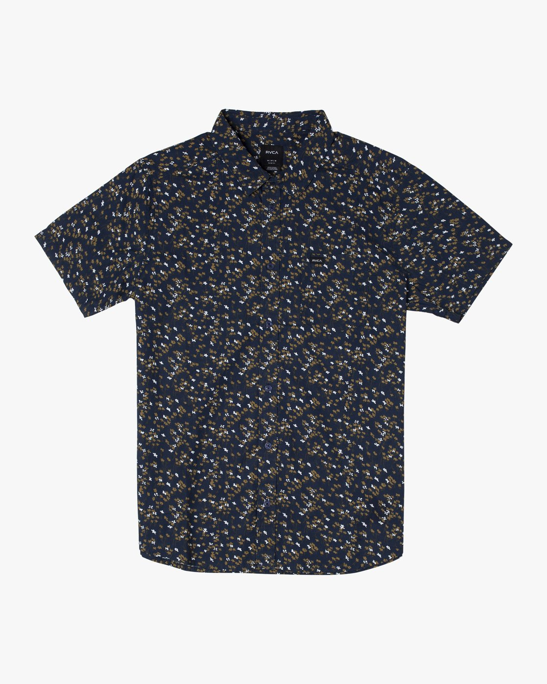 8 ETERNAL SHORT SLEEVE SHIRT Blue M5202RET RVCA