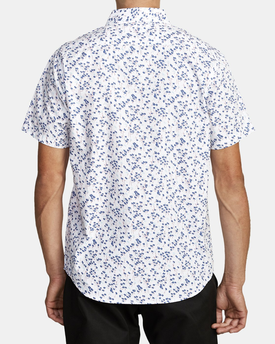 1 ETERNAL SHORT SLEEVE SHIRT White M5202RET RVCA