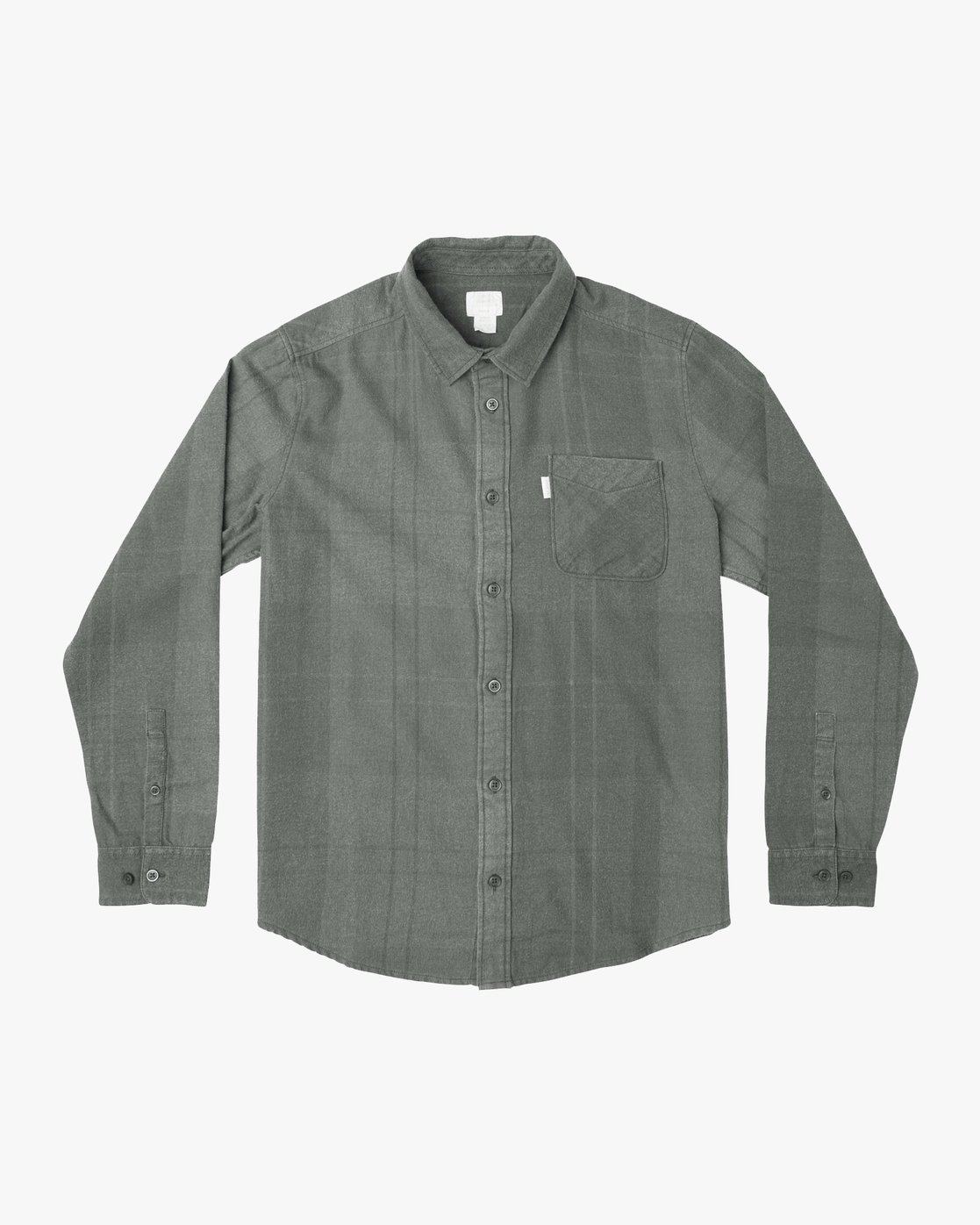 0 Good Stuff Neutral Flannel Black M525QRGS RVCA