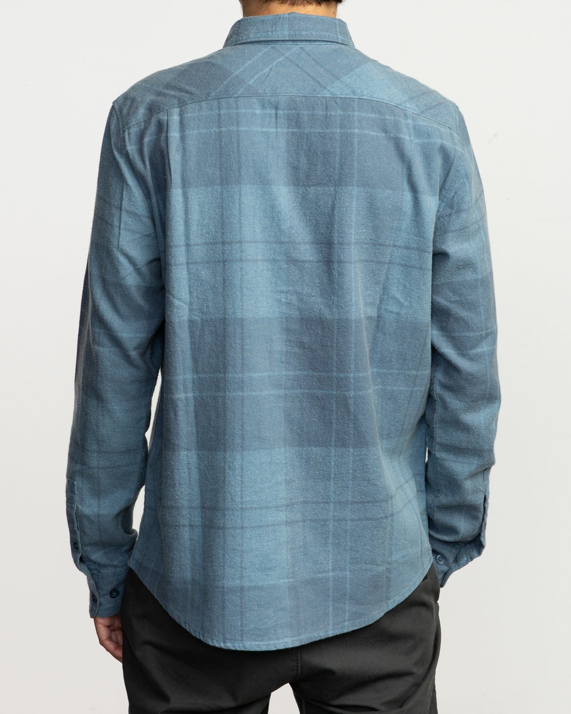 3 Good Stuff Neutral Flannel Blue M525QRGS RVCA