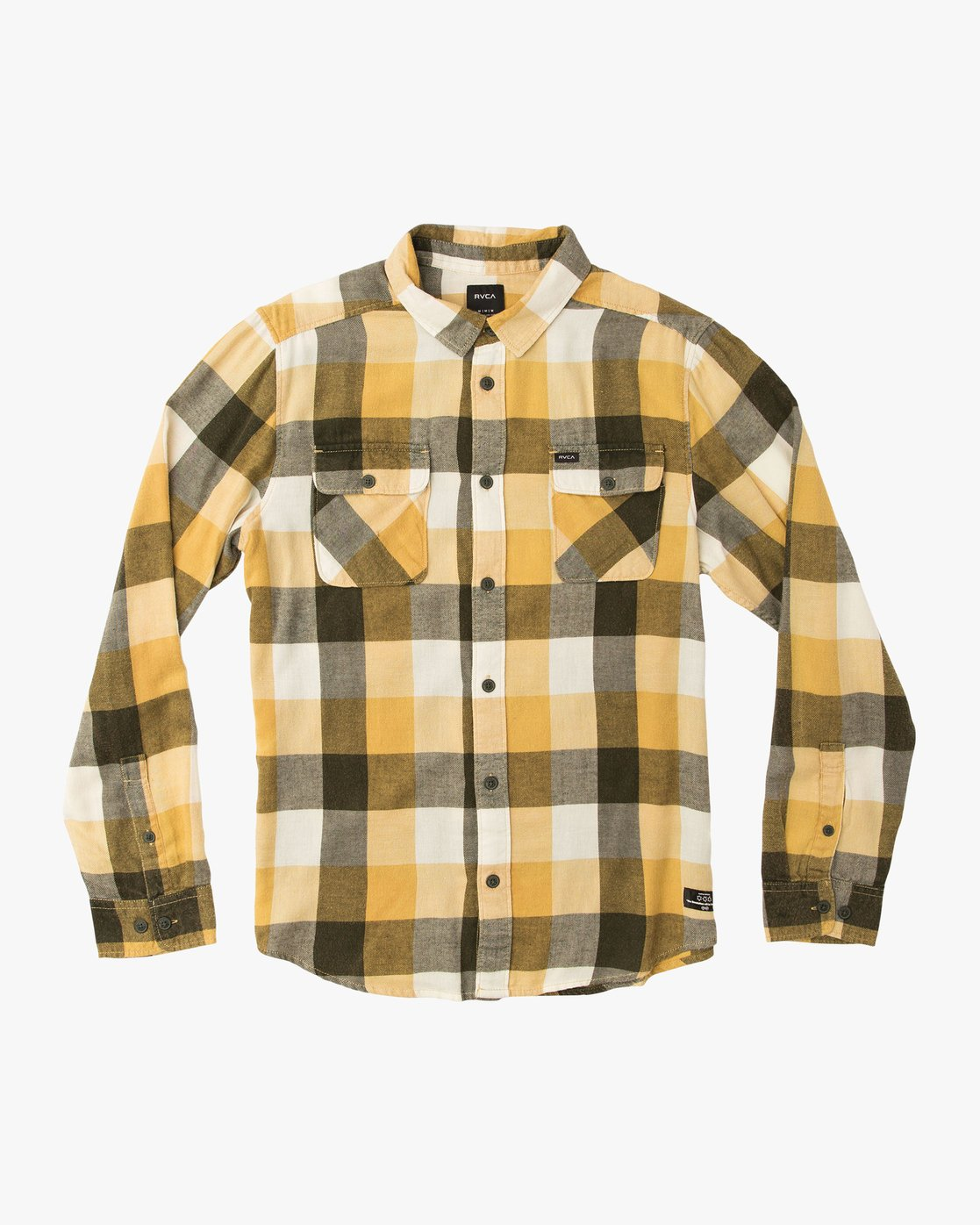 0 Campbell Brothers Buffalo Girl Plaid Shirt Camo M552QRBU RVCA