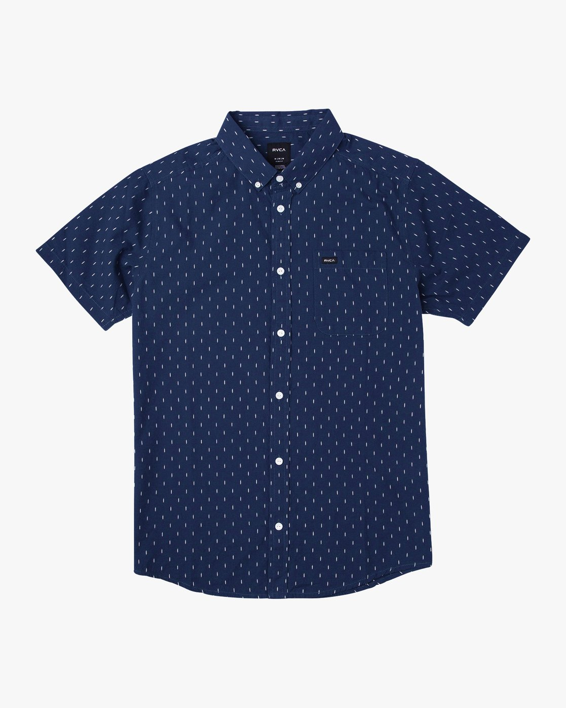 5 That'll Do Hi Grade II Button-Up Shirt Blue M552URTH RVCA