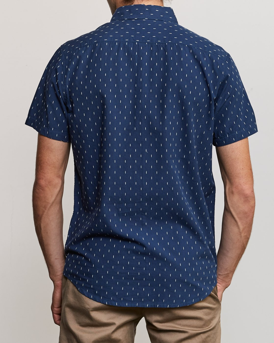 2 That'll Do Hi Grade II Button-Up Shirt Blue M552URTH RVCA