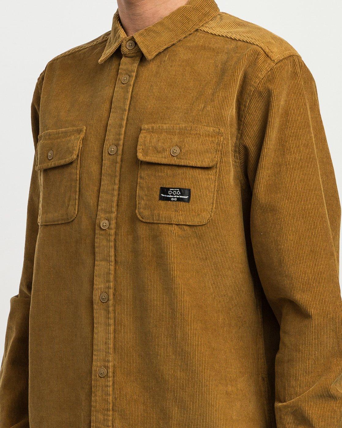 3 Campbell Corduroy Button-Up Shirt  M554SRCA RVCA