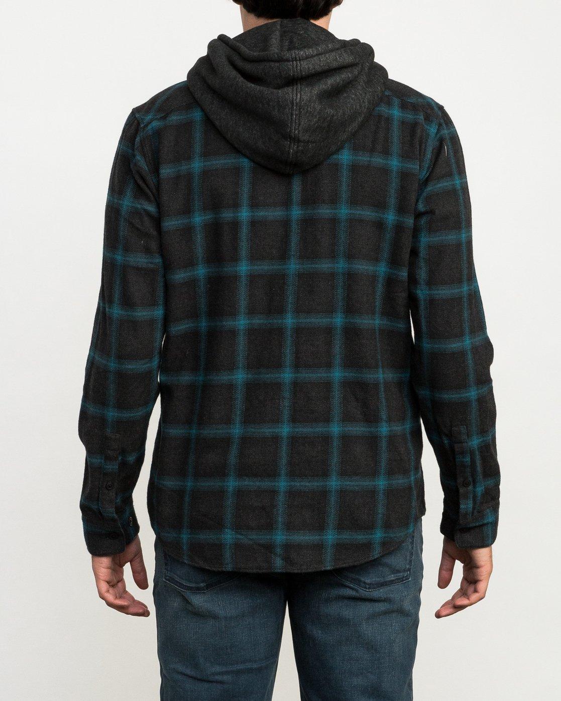 4 Christian Fletcher Good Hombre Flannel Grey M560QRGO RVCA