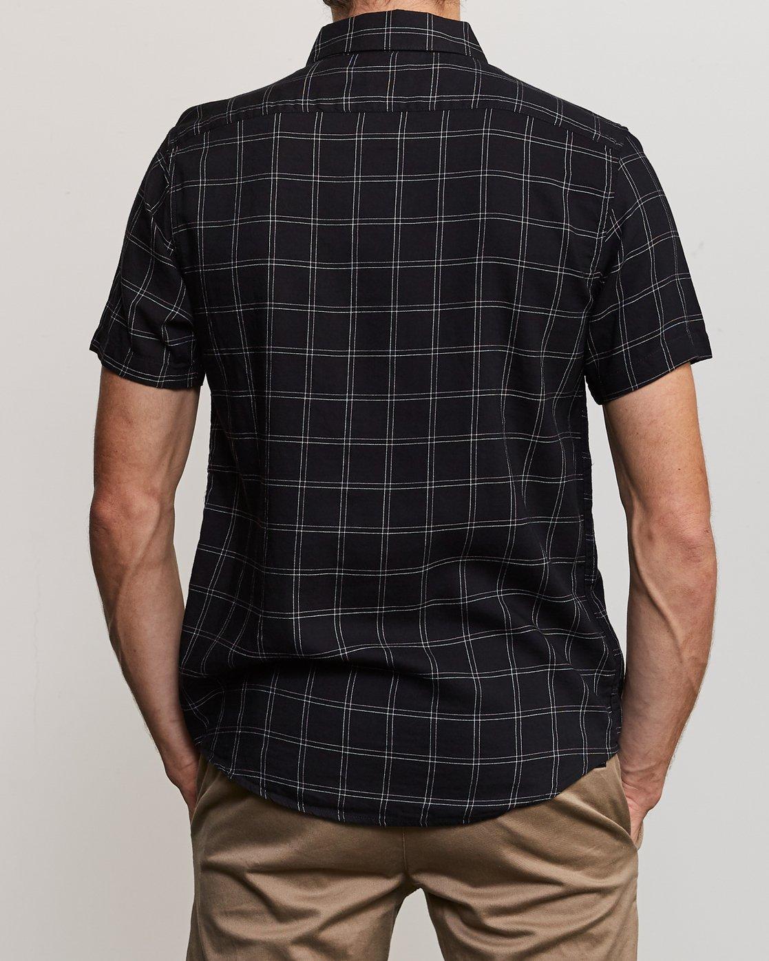3 Pain Killer Button-Up Shirt Black M560URPK RVCA