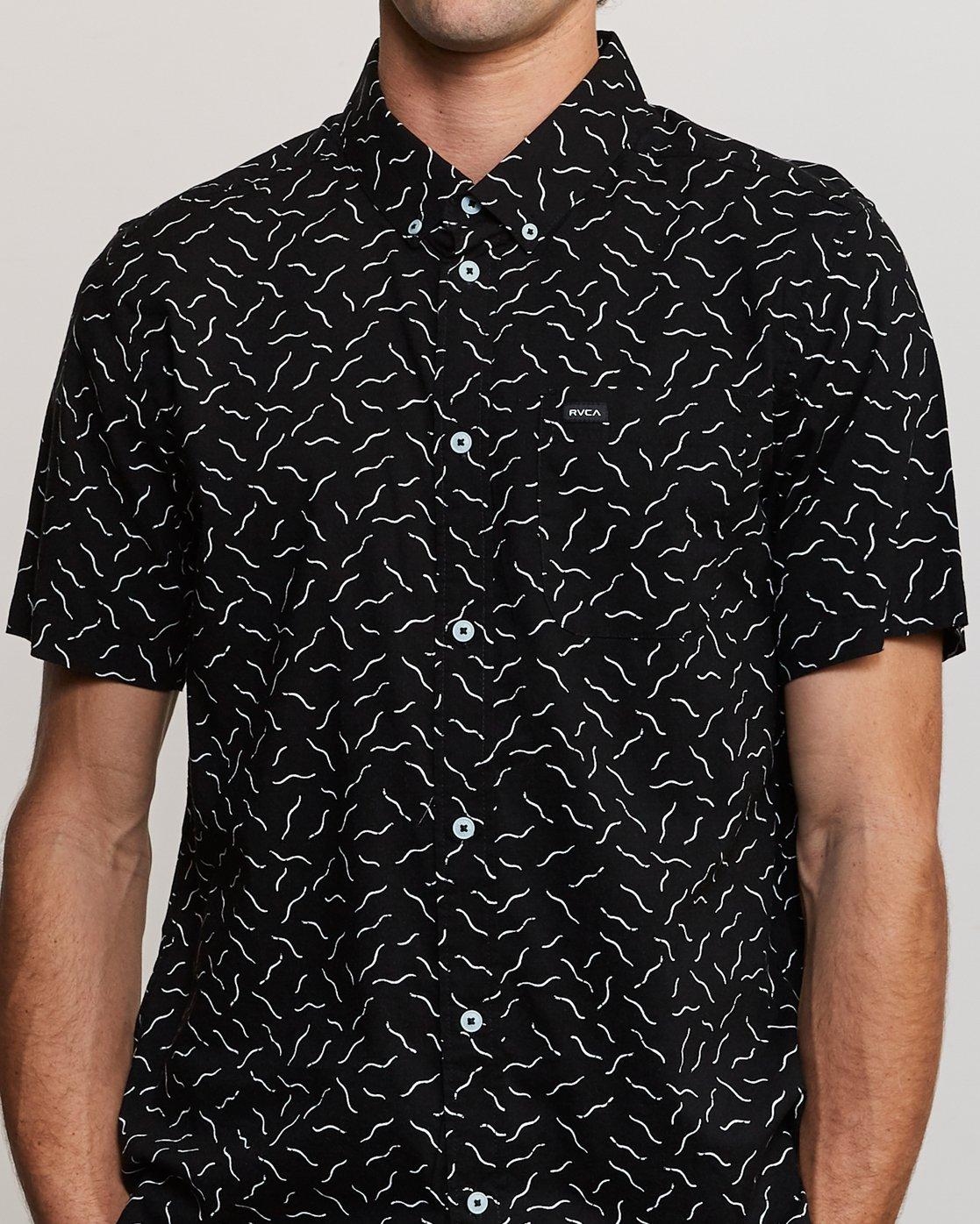 5 ANP Pack Button-Up Shirt Black M561URPP RVCA