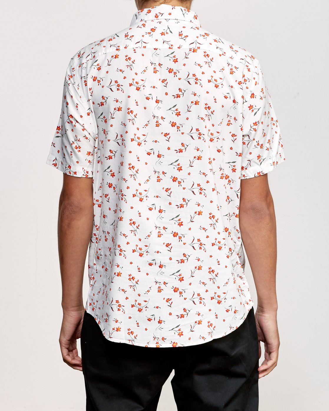 2 Elegie Floral Button-Up Shirt White M565UREF RVCA