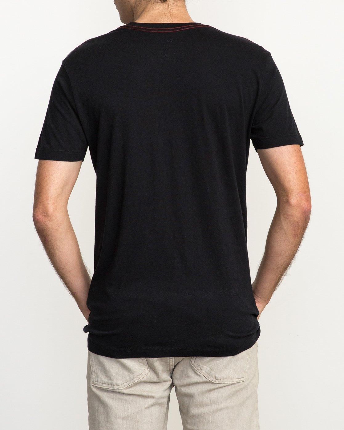 3 PTC 2 T-Shirt Black M5912PTC RVCA