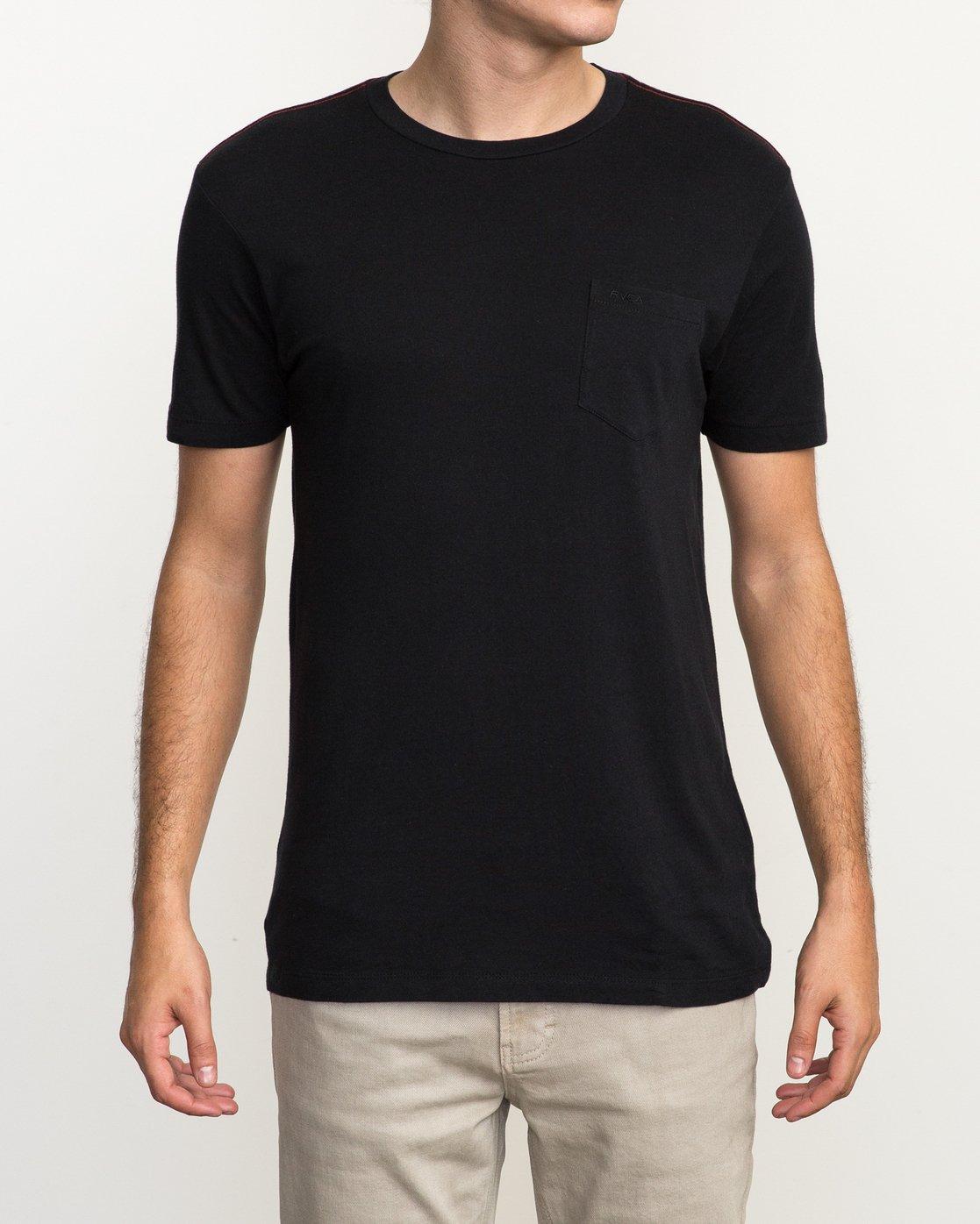 1 PTC 2 T-Shirt Black M5912PTC RVCA