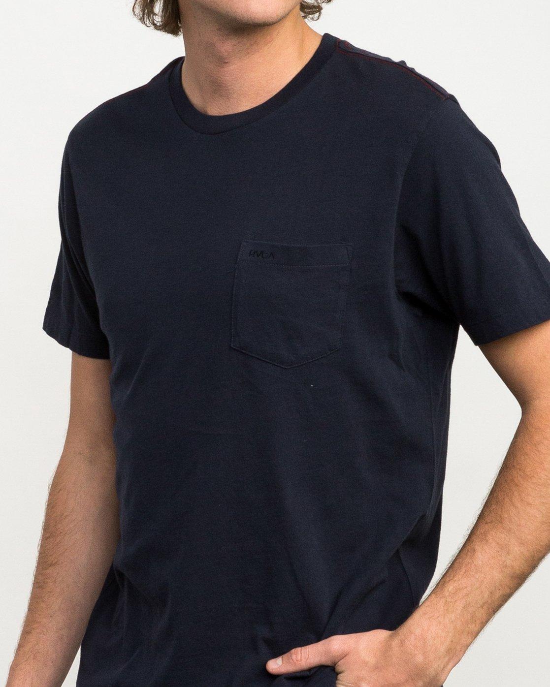 4 PTC 2 T-Shirt Blue M5912PTC RVCA