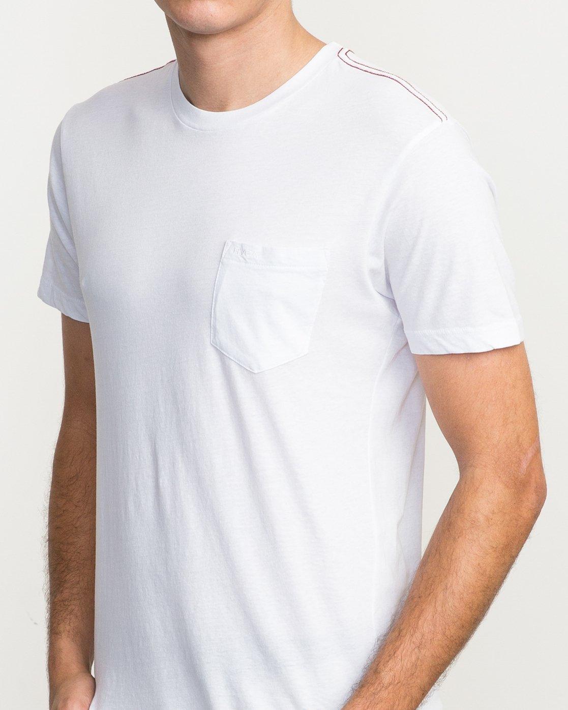 4 PTC 2 T-Shirt White M5912PTC RVCA