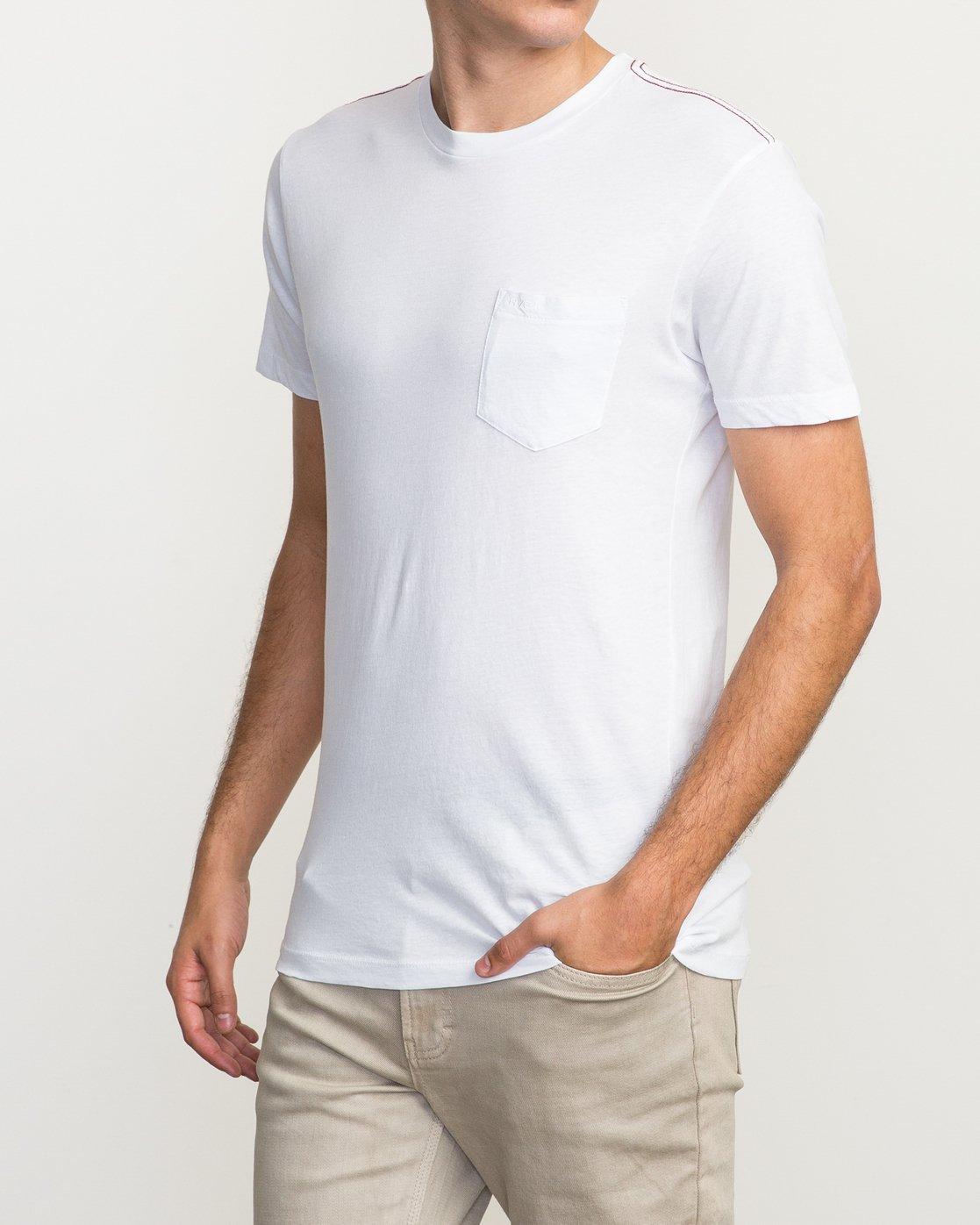 2 PTC 2 T-Shirt White M5912PTC RVCA