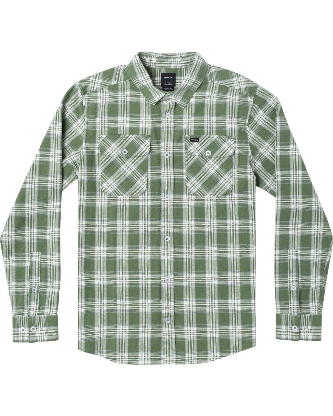 0 THATLL WORK FLANNEL LONG SLEEVE SHIRT Multicolor M5993RTW RVCA