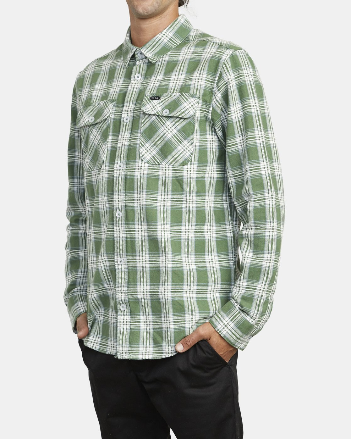 3 THATLL WORK FLANNEL LONG SLEEVE SHIRT Multicolor M5993RTW RVCA