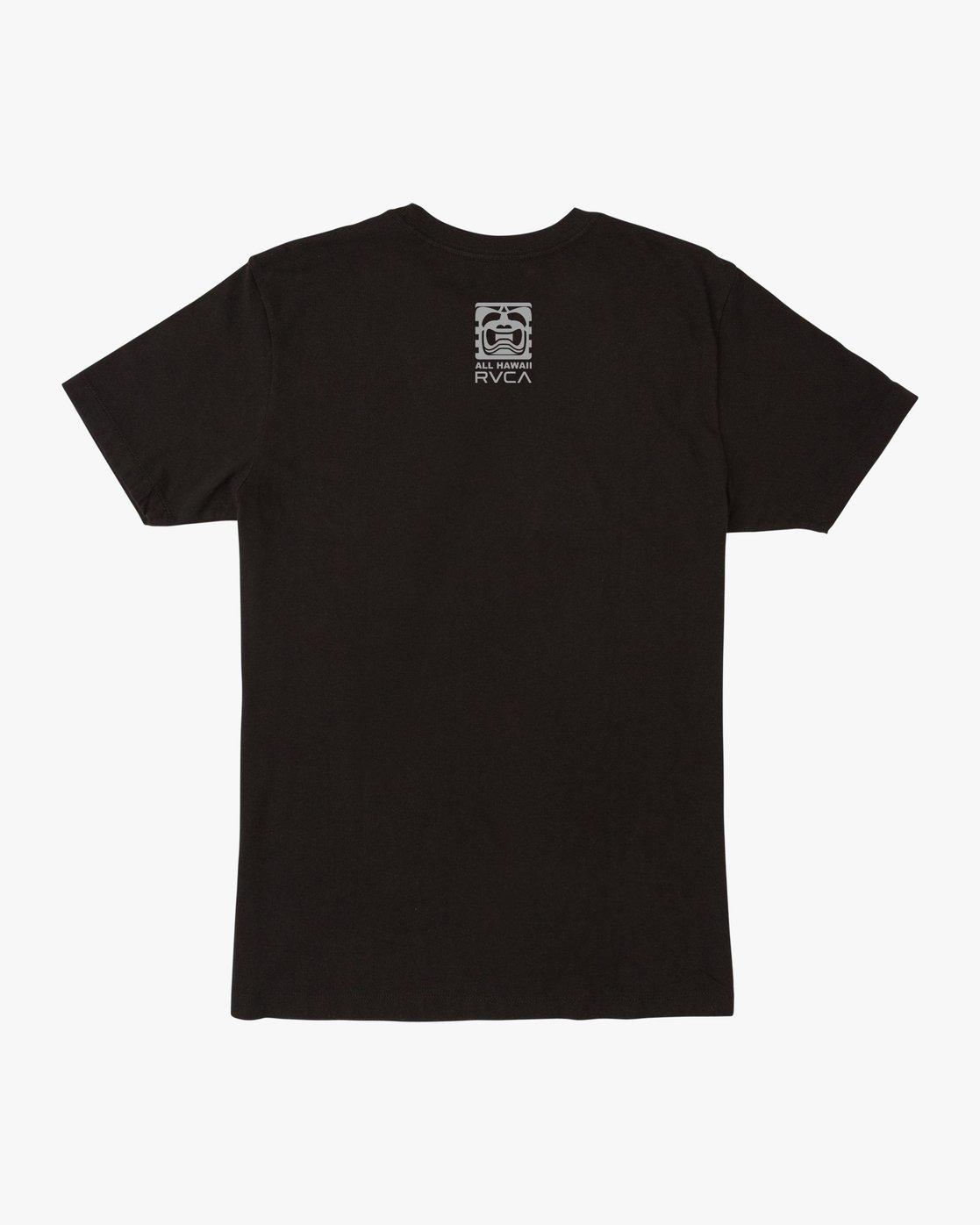 1 Penn x Edgar Cornerman T-Shirt Black M6007CBJ RVCA