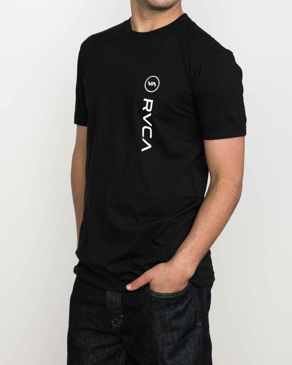 1 RVCA Sport T-Shirt Black M600K00R RVCA