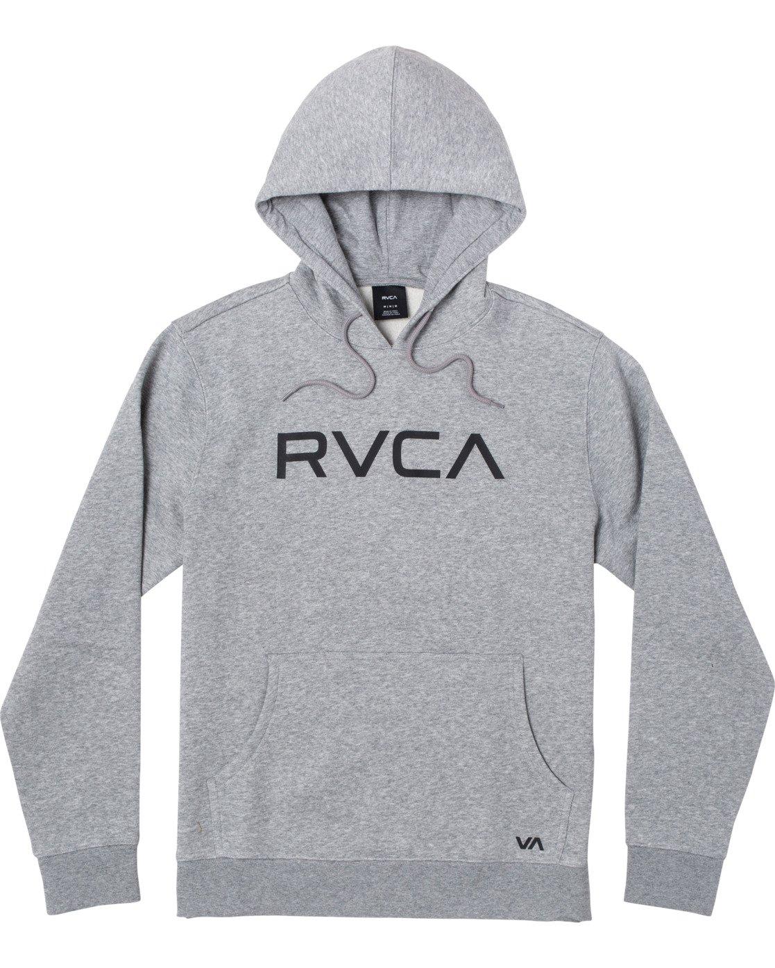 0 BIG RVCA HOODIE Grey M6023RBR RVCA