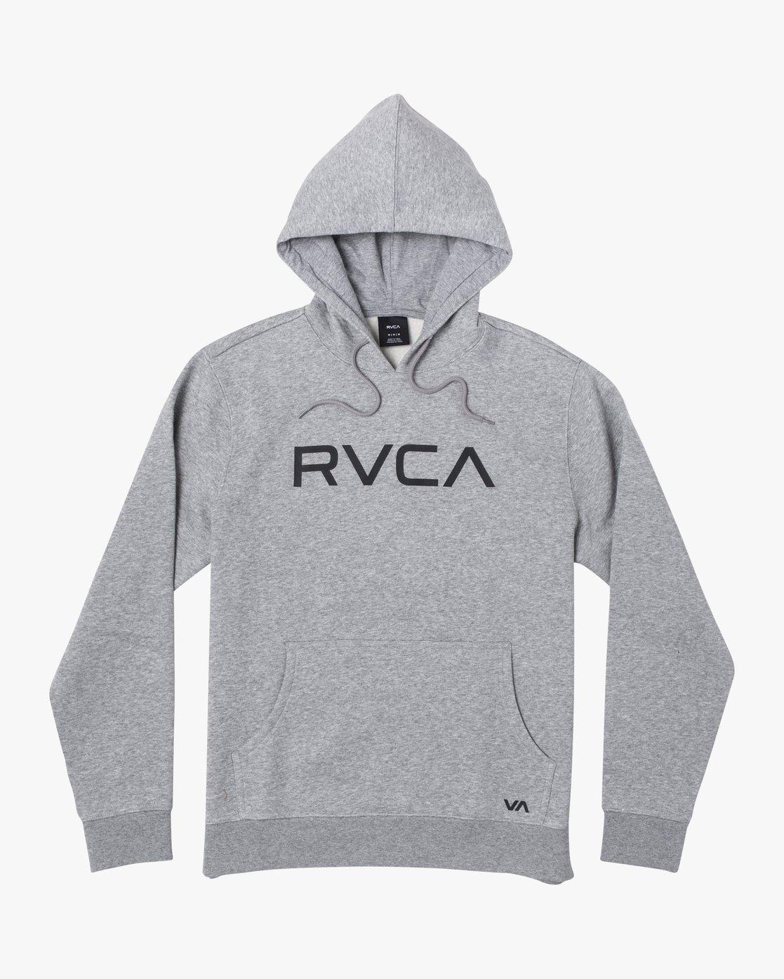 1 BIG RVCA HOODIE Grey M6023RBR RVCA