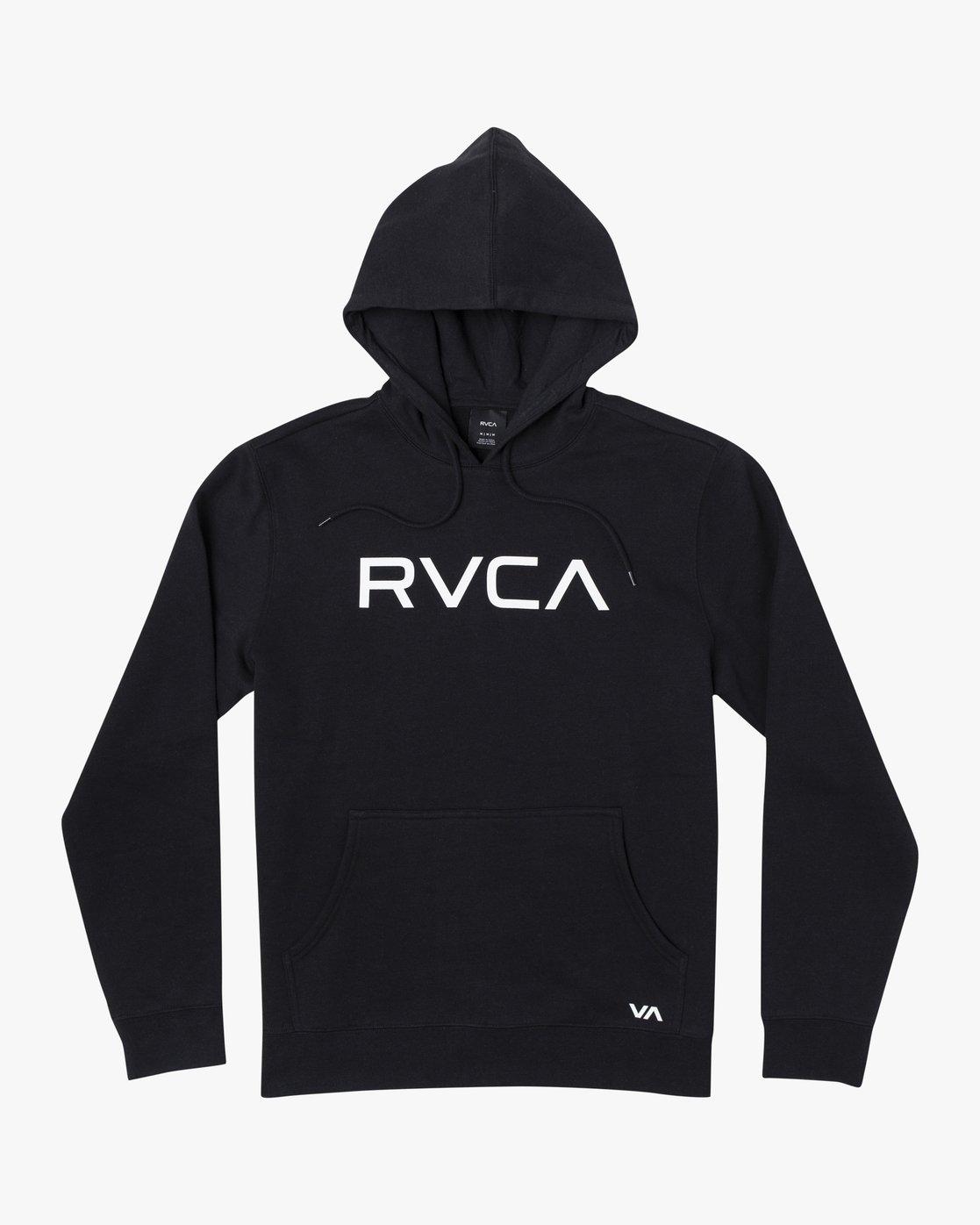 4 BIG RVCA HOODIE Black M6023RBR RVCA