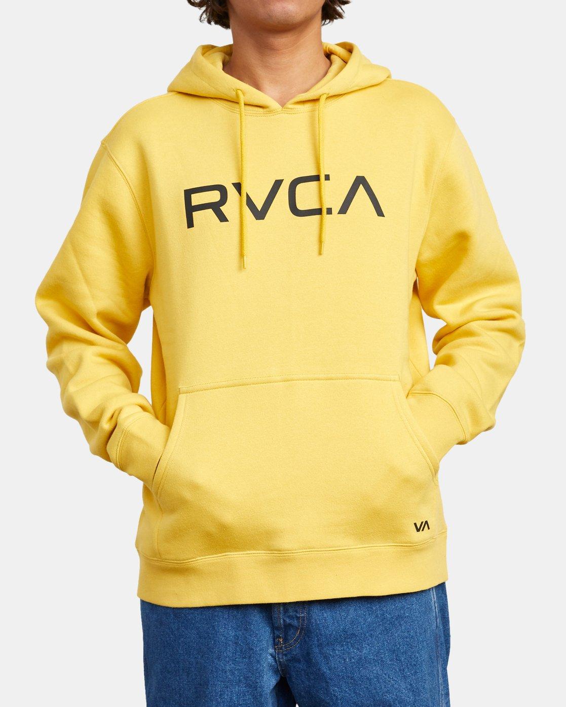 1 BIG RVCA HOODIE Black M6023RBR RVCA