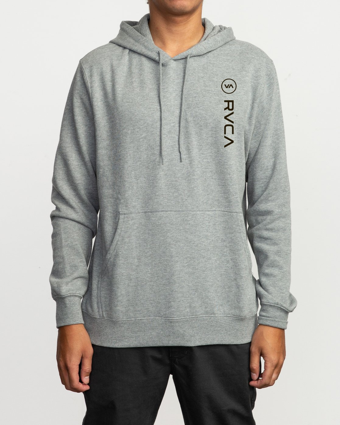 1 RVCA Sport Pullover Hoodie Grey M602SRRS RVCA