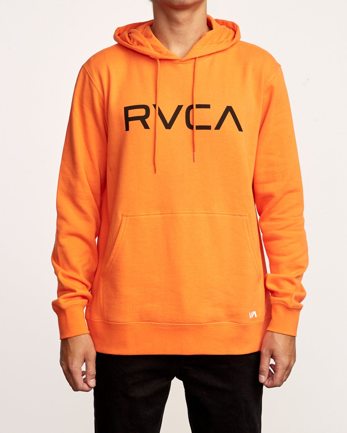 2 Big RVCA Hoodie Orange M602VRBR RVCA
