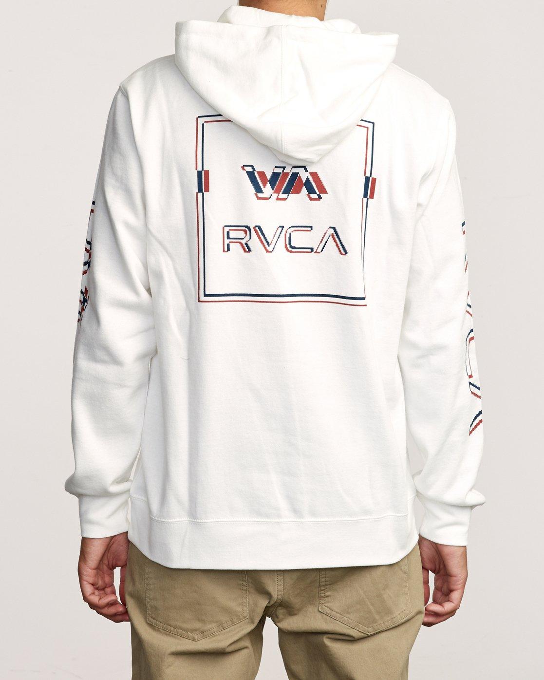 4 Logo Pack Hoodie White M602VRLP RVCA