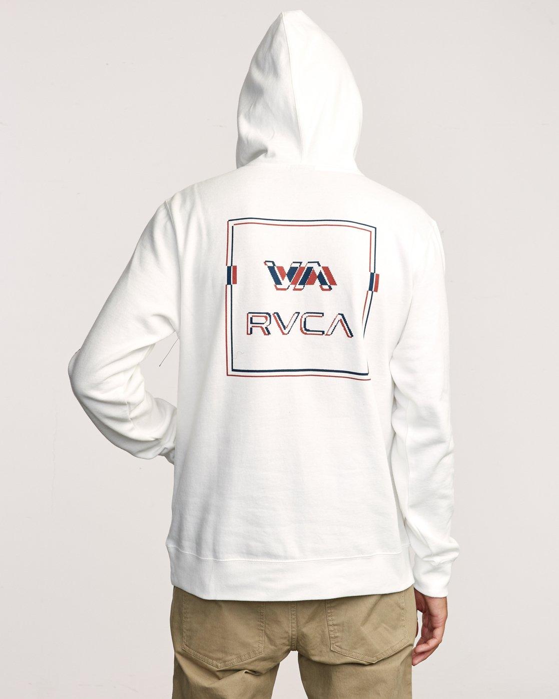 5 Logo Pack Hoodie White M602VRLP RVCA