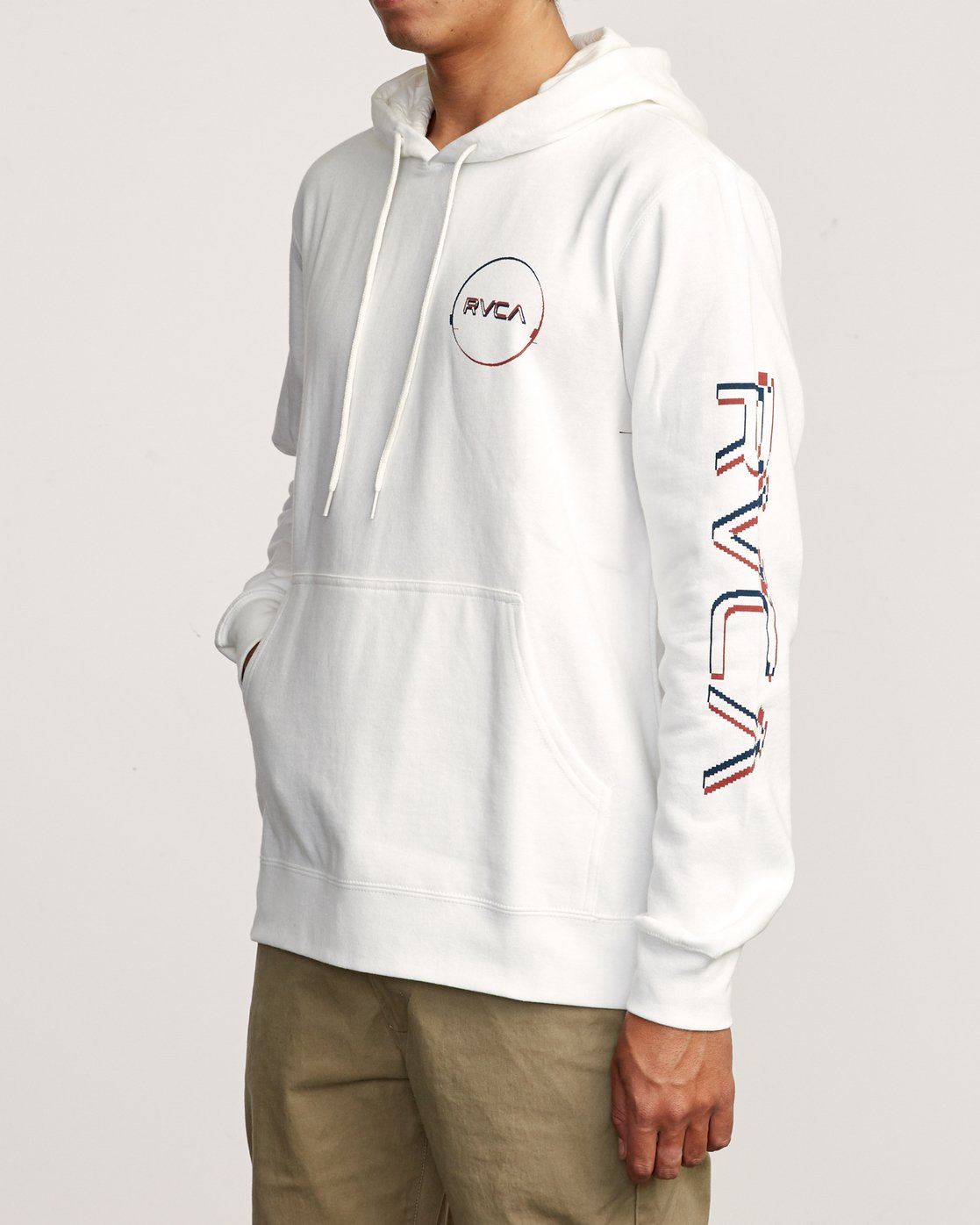 3 Logo Pack Hoodie White M602VRLP RVCA