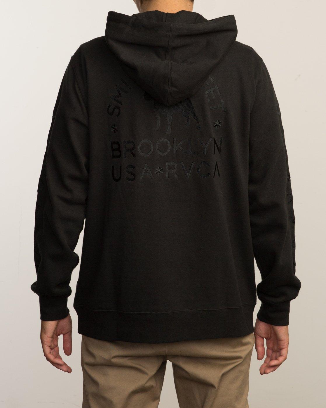 3 Smith Street Hoodie Black M602VRSS RVCA