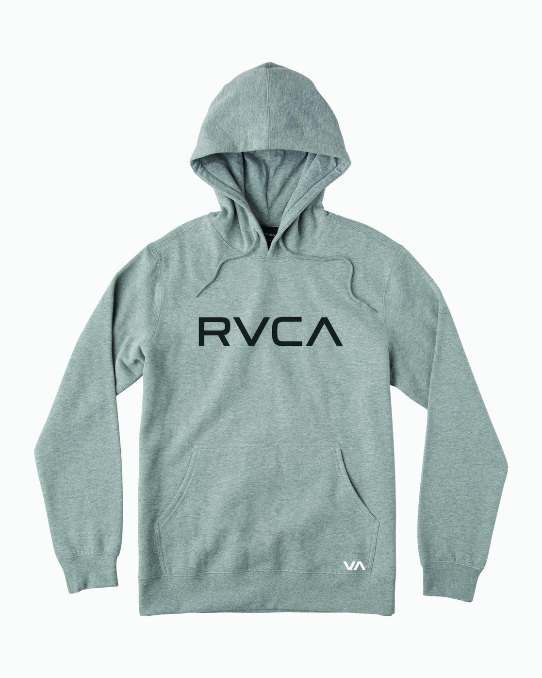 0 BIG RVCA HOODIE Grey M602WRBR RVCA