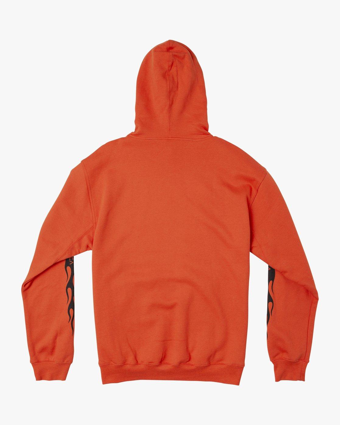 1 LOGO PACK HOODIE Orange M602WRLP RVCA