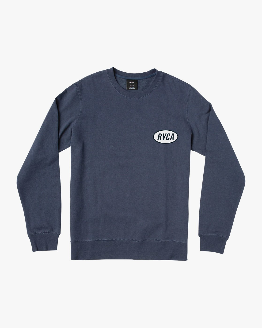 1 Leisure Crew Sweatshirt Blue M608VRLC RVCA