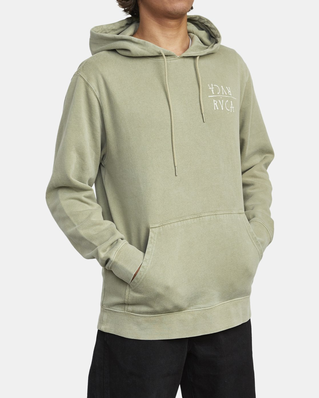 4 BY A THREAD HOODIE Green M6213RBY RVCA