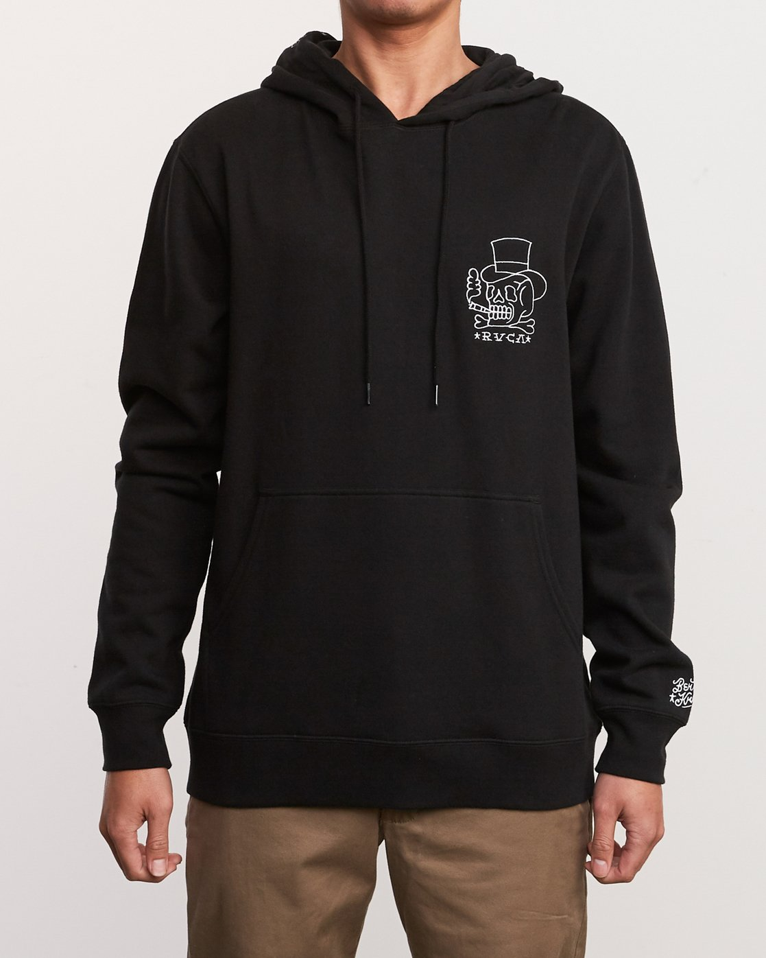 2 Pick Your Battles Hoodie Black M621URKR RVCA