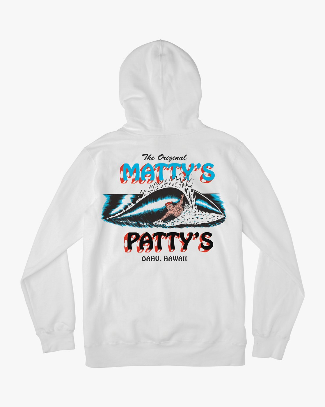 1 Matty's Patty's White Hoodie White M622URMA RVCA