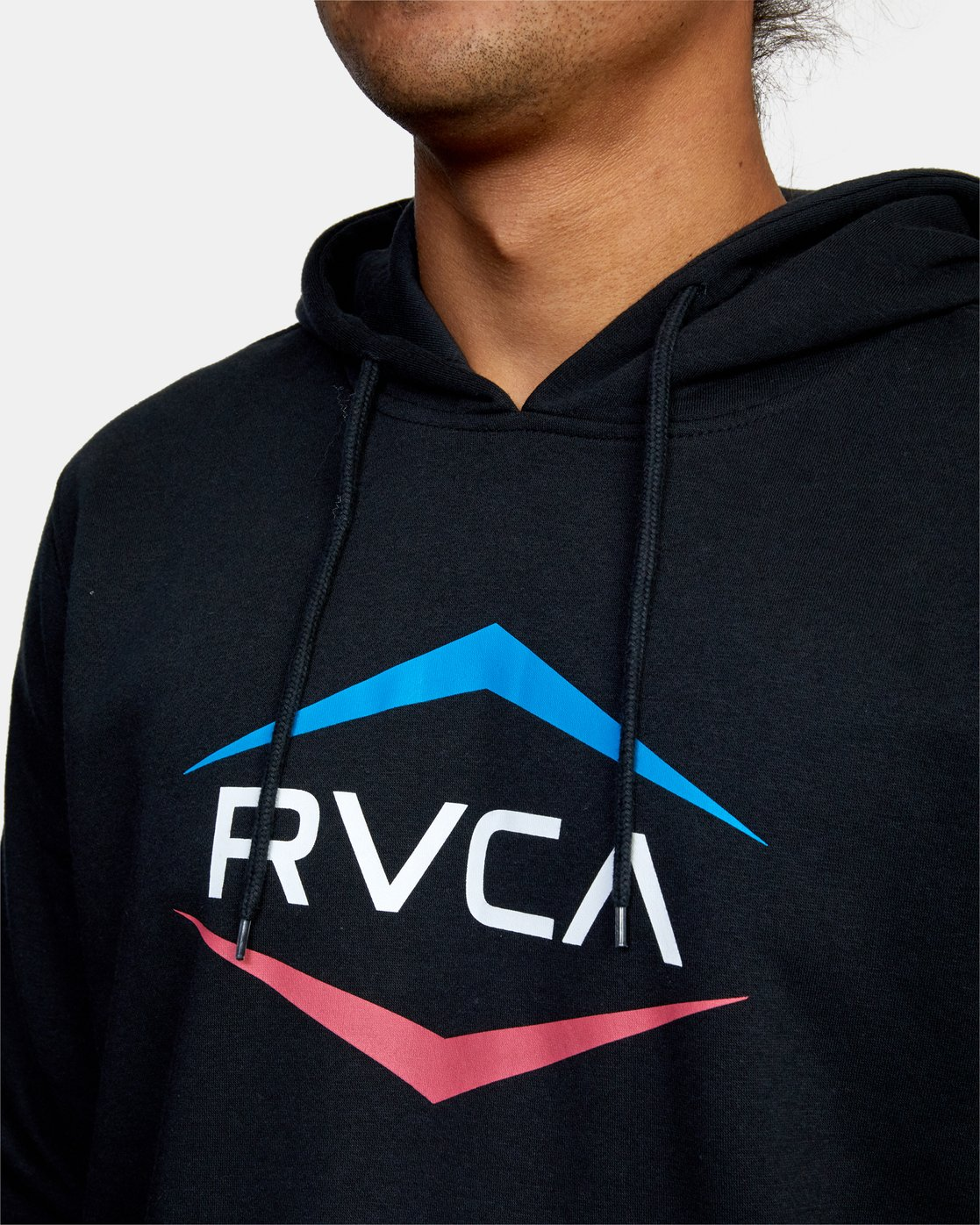 3 ASTRO HEX HOODIE Black M624WRAH RVCA