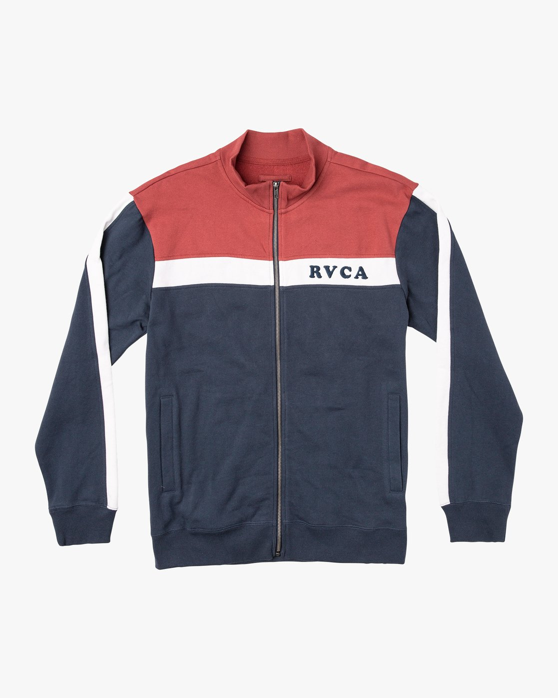 0 Pali Track Zip-Up Jacket Red M625VRPA RVCA