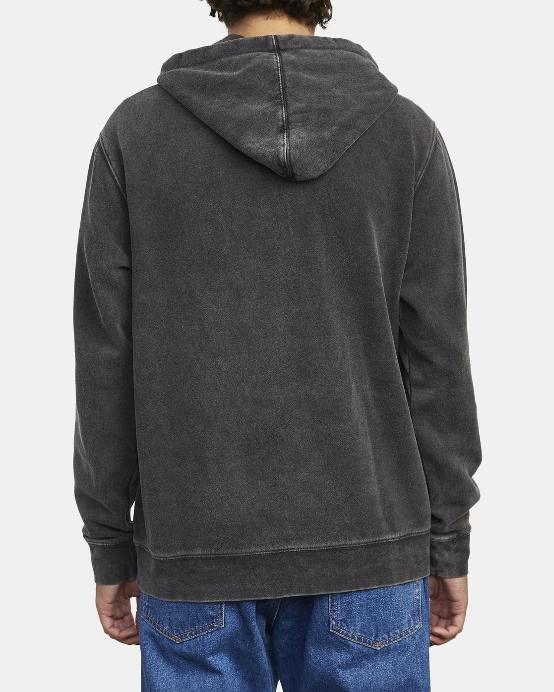 4 TONALLY II HOODIE Orange M6263RTO RVCA